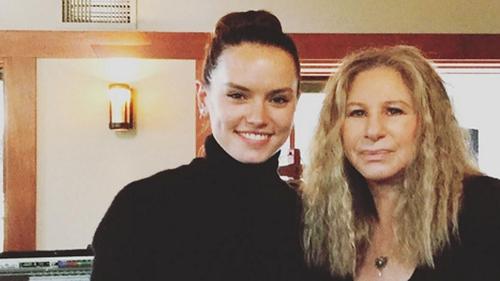 Daisy Ridley and Barbra Streisand   Pic: Instagram/DaisyRidley