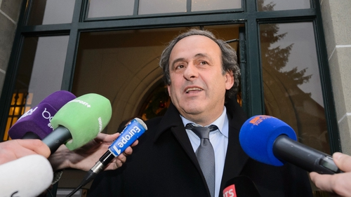 Michel Platini was reportedly taken into custody on Tuesday morning