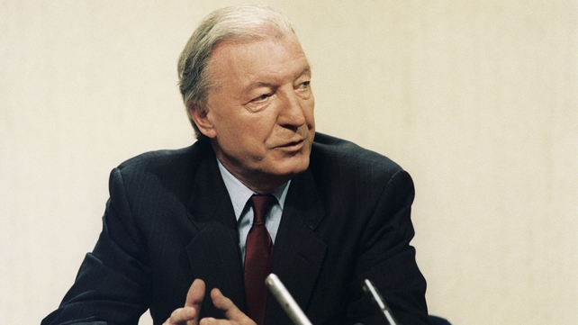 Charles Haughey pictured during the 1989 General Election (Pic: RTÉ Stills Library)