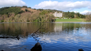 The castle, Castlewellan, Co Down (Pic: Willie Carville)