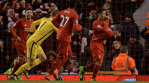 Firmino put the icing on the cake with Liverpool's third
