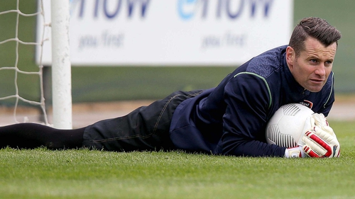Shay Given has fallen behind Jakob Haugaard in the pecking order at Stoke