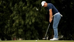 Rory McIlroy had a mixed first round at the WGC-Cadillac Championship