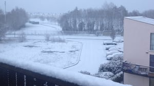 Olivia Kelly took this picture of the snow in Finglas