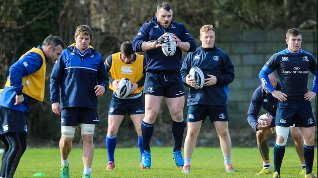 Cian Healy (c)  starts alongside Sean Cronin and Mike Ross in a new-look front row