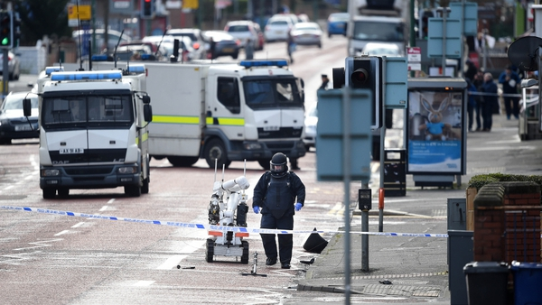 Explosion occurred in the Hillsborough Drive area off the Woodstock Road in east Belfast