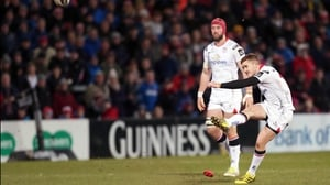 Paddy Jackson will make his 100th appearance for Ulster at Scotstoun Stadium
