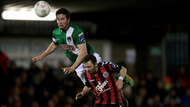 Cork face Derry while Bohemians welcome Sligo Rovers