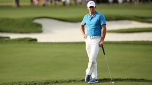 McIlroy showed great form on the greens in his second round in Florida