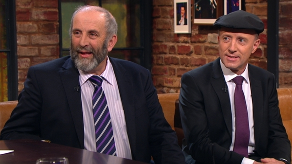 Danny and Michael Healy-Rae appeared on RTÉ's Late Late Show