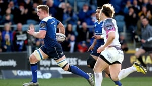 Dan Leavy scored Leinster's opening try