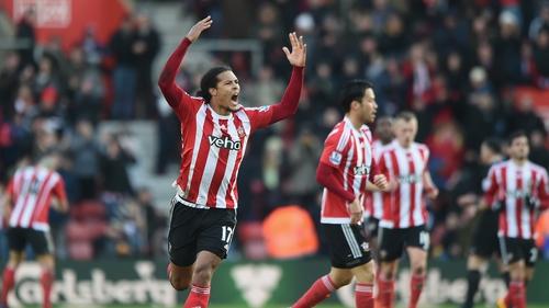 Virgil van Dijk has returned to training with Southampton
