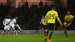 Riyad Mahrez fires home Leicester's winner