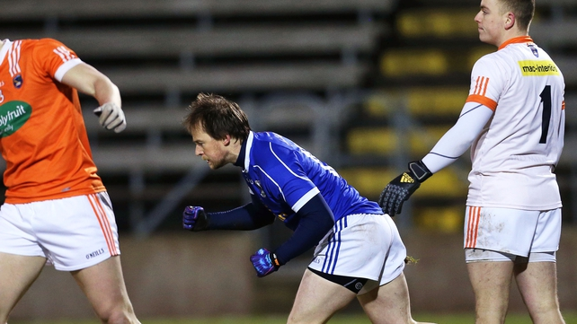 Seanie Johnston hit 1-05 in Cavan's impressive win at Breffni Park