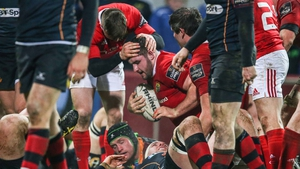 James Cronin got the decisive try for Munster