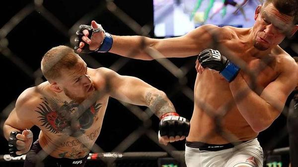 Conor McGregor takes on Nate Diaz on Saturday