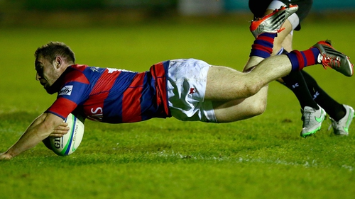 Rob McGrath touched down for Clontarf