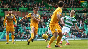 Gary Mackay-Steven scores Celtic's second goal