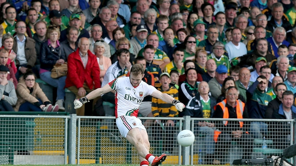Hennelly's accuracy saw Mayo come away with all the points from Clones