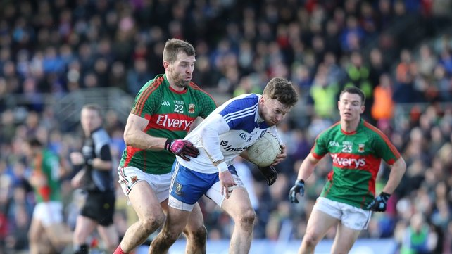 Mayo and Seamus O'Shea are finally on the board in Division 1