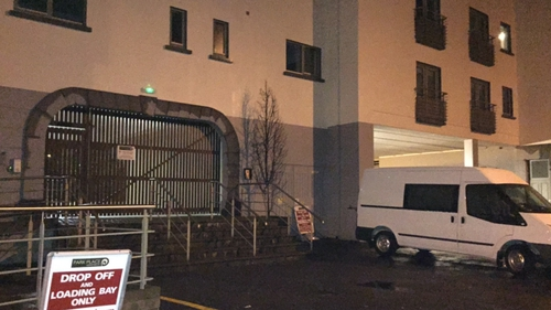 Gardaí were called to the apartment complex on Upper High Street in Killarney this evening