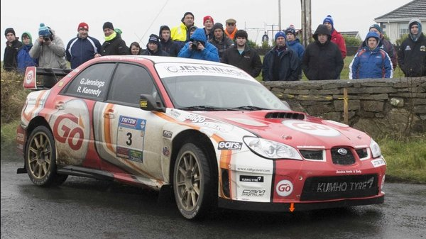 Garry Jennings won the opening round of the Triton Showers National Rally Championship