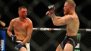 Nate Diaz defeated Conor McGregor last March in Vegas