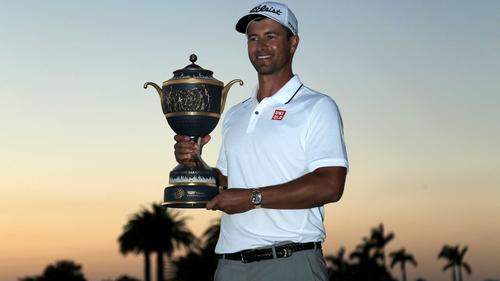 Adam Scott has won consecutive events on the PGA Tour