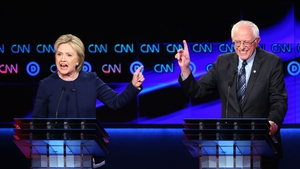 Hillary Clinton and Bernie Sanders competed for the Democratic nomination to run for the US Presidency in 2016
