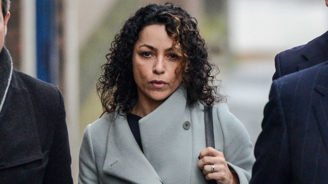 Eva Carneiro arrives at Montague Court in Croydon, London