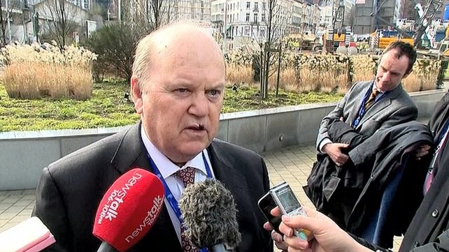 Michael Noonan said 'Fine Gael's position is we want a national utility for water rather than it reverting to local authorities'
