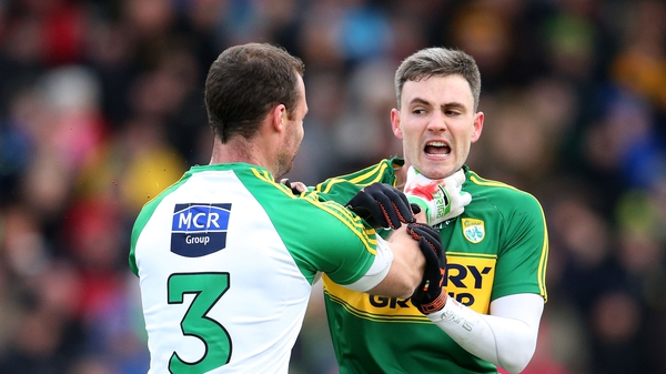 The altercation between Neil McGee and Alan Fitzgerald set the tone for an ill-tempered encounter in Tralee