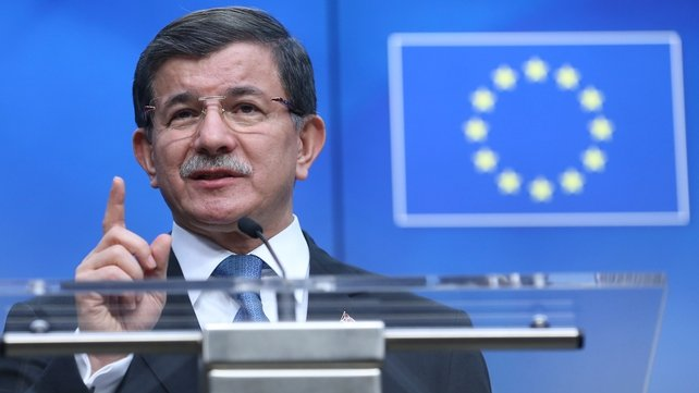 Turkish PM Ahmet Davutoglu said that for every Syrian sent back to Turkey, another in Turkey would be resettled in Europe, but in a legal way