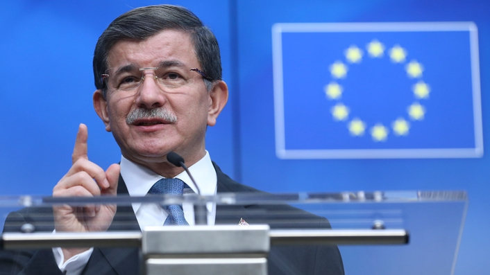 EU and Turkey agree 'in principle' on plan to stop migrants