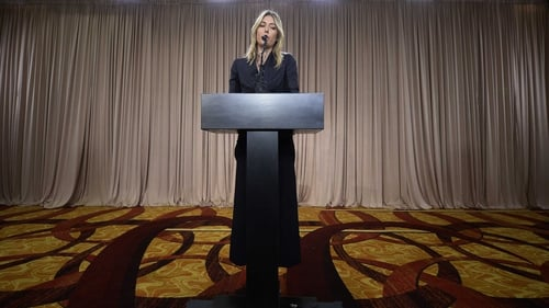 Maria Sharapova faces the world's media