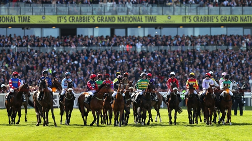 The Grand National Festival at Aintree, jumps racing's showpiece, has been cancelled