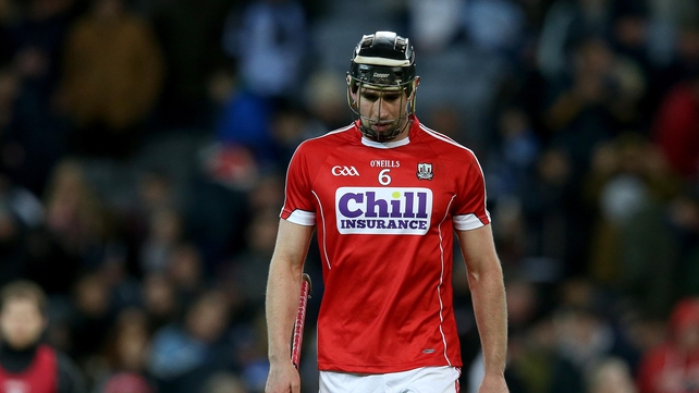Mark Ellis cuts a dejected figure after Cork's loss to Dublin at Croke Park
