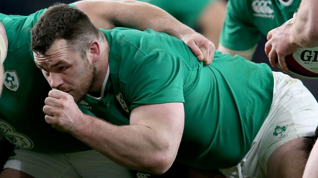 Cian Healy: 'Hopefully we can put together everything we've been working on for ourselves and for the supporters.'