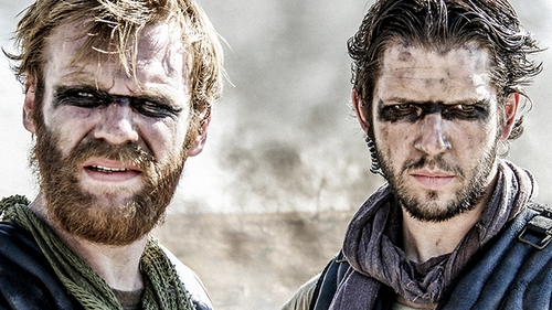 Tiger Raid (Brian Gleeson, left, and Damien Molony, right) - Irish premiere at Galway Film Fleadh