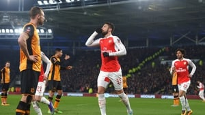 Olivier Giroud bagged his first goals since 13 January