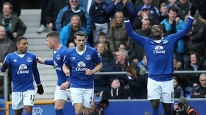 Everton are hot on the heels of Manchester United
