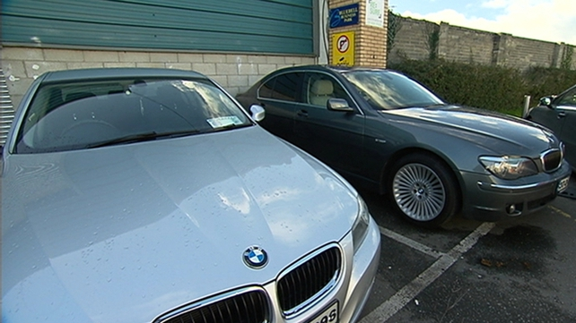 Over 20 high spec and luxury cars worth more than €1m have been identified and seized