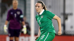 Louise Quinn's header helped Ireland to an impressive win