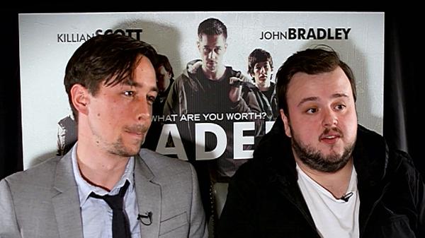 Killian Scott and John Bradley - New film Traders opens in cinemas on Friday