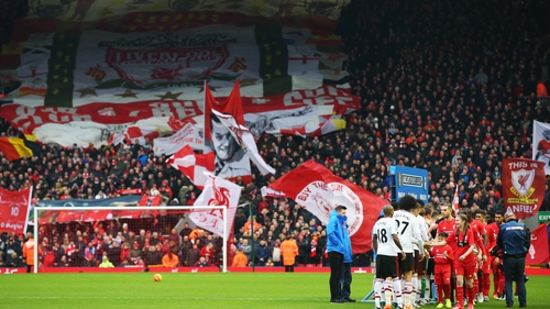Liverpool take on Manchester United at Anfield on Thursday night
