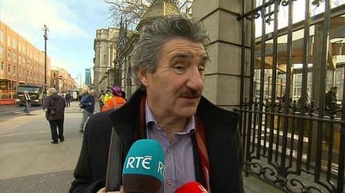 John Halligan earlier said he wants Irish Water scrapped