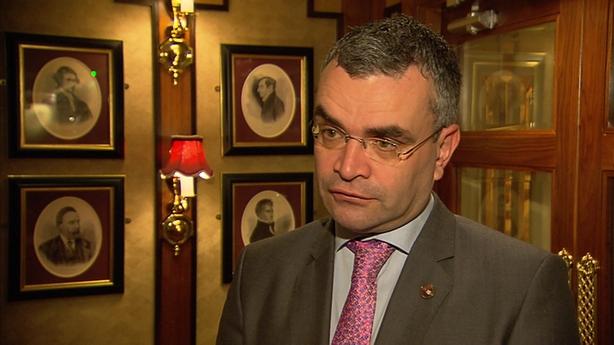 Fianna Fáil finance spokesperson Dara Calleary