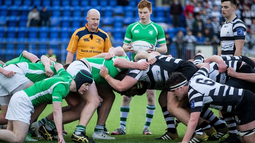 Referee Gary Glennon pictured during the game