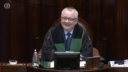 Seán Ó Fearghaíl topped final ballot