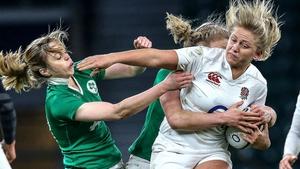 Ireland went down 13-9 against England